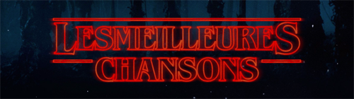 MINIATURE CHANSONS STRANGER THINGS